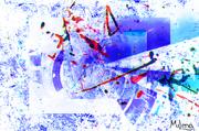 40 x 50, 12 Farben-Galeriedruck, Keilgerahmt auf 2-cm-Echtholzleisten